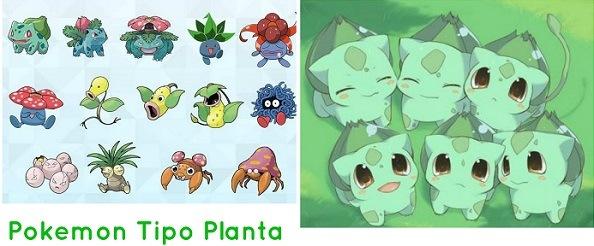 pokémon tipo planta