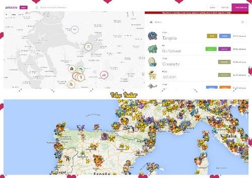 pokeradar encontrar pokemons
