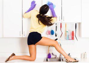 limpiar para encontrar objetos