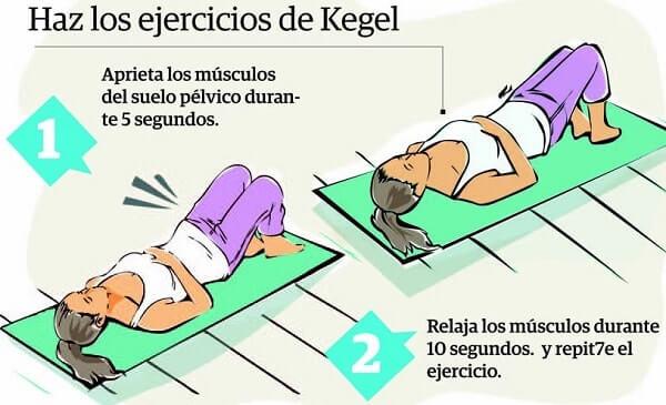 como hacer ejercicios kegel para mujeres