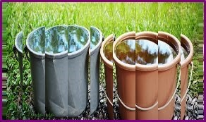 guardar el agua de lluvia en recipientes